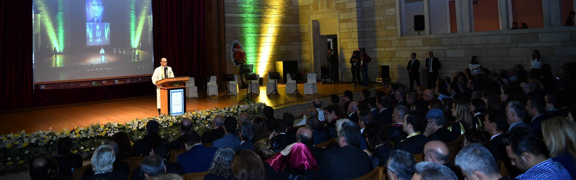 istanbul üniversite cerrahpaşa 2018 2019 açılış tören konuşma orman fakülte rektör nuri aydın