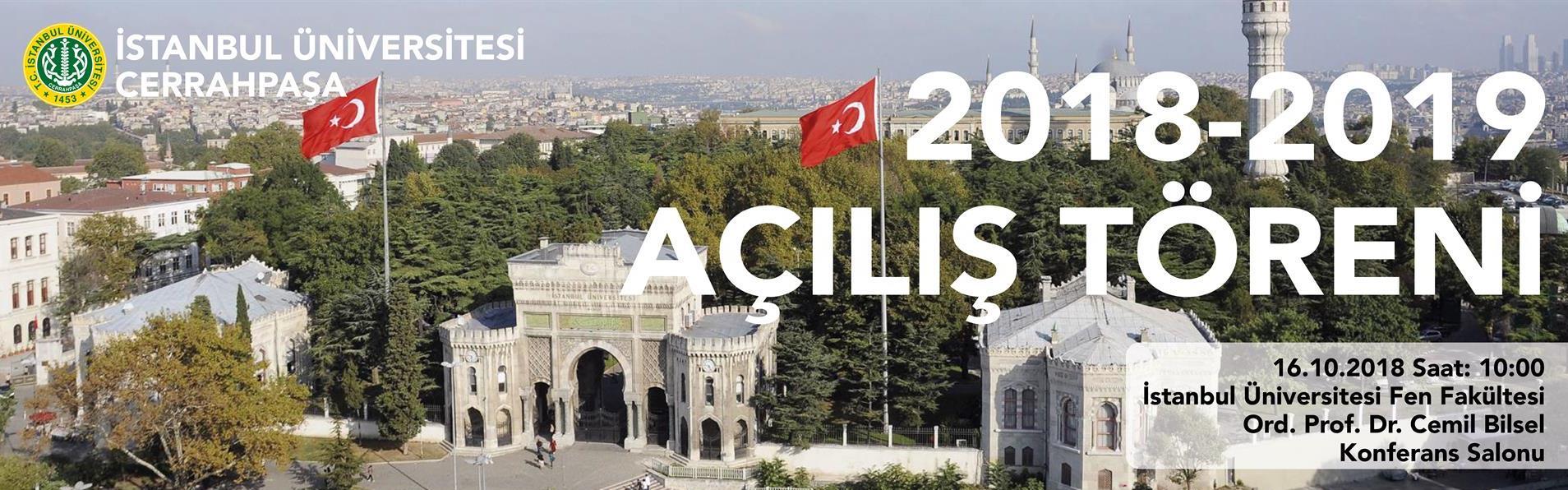 İstanbul-Üniversitesi-Cerrahpaşa-2018---2019-Eğitim----Öğretim-Yılı-Açılış-Töreni