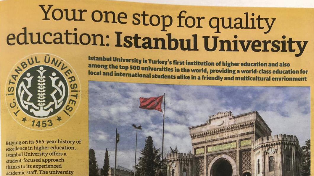 İstanbul-Üniversitesi-Haberleri-Uluslararası-Basında-Geniş-Yer-Buldu