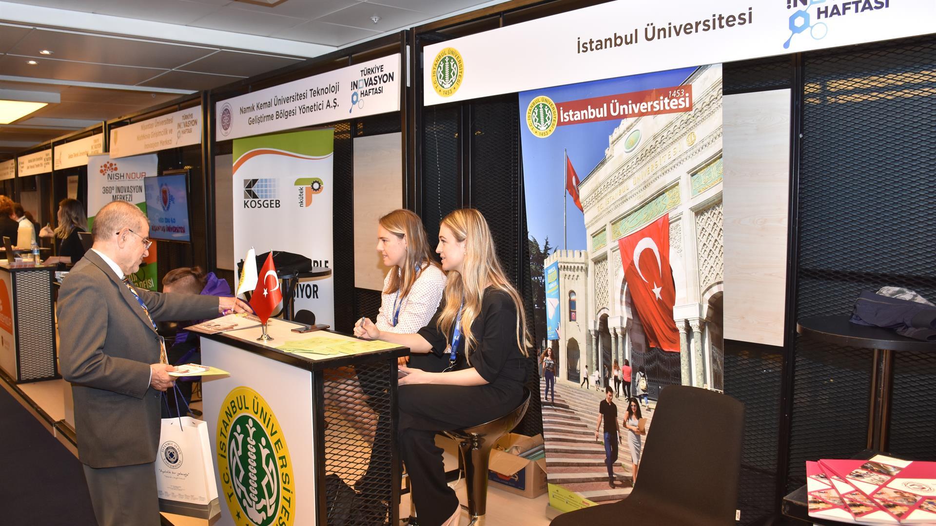 İstanbul-Üniversitesi-Türkiye-İnovasyon-Haftası-Fuarı'na-Katıldı