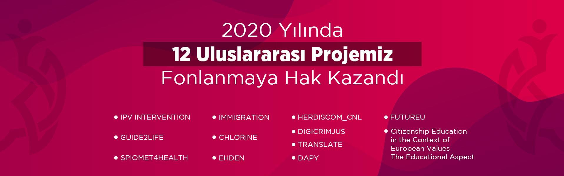 proje başarı 2020