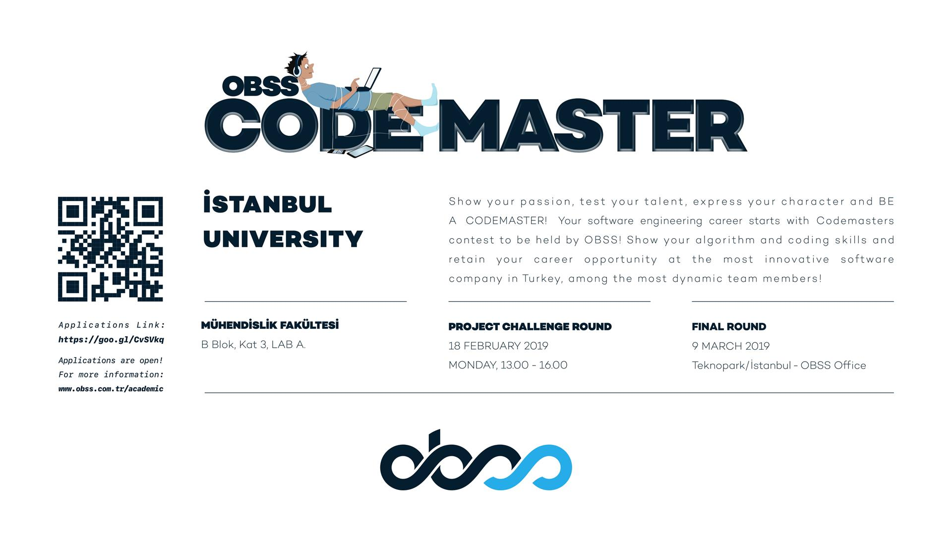obss yarışma code-master