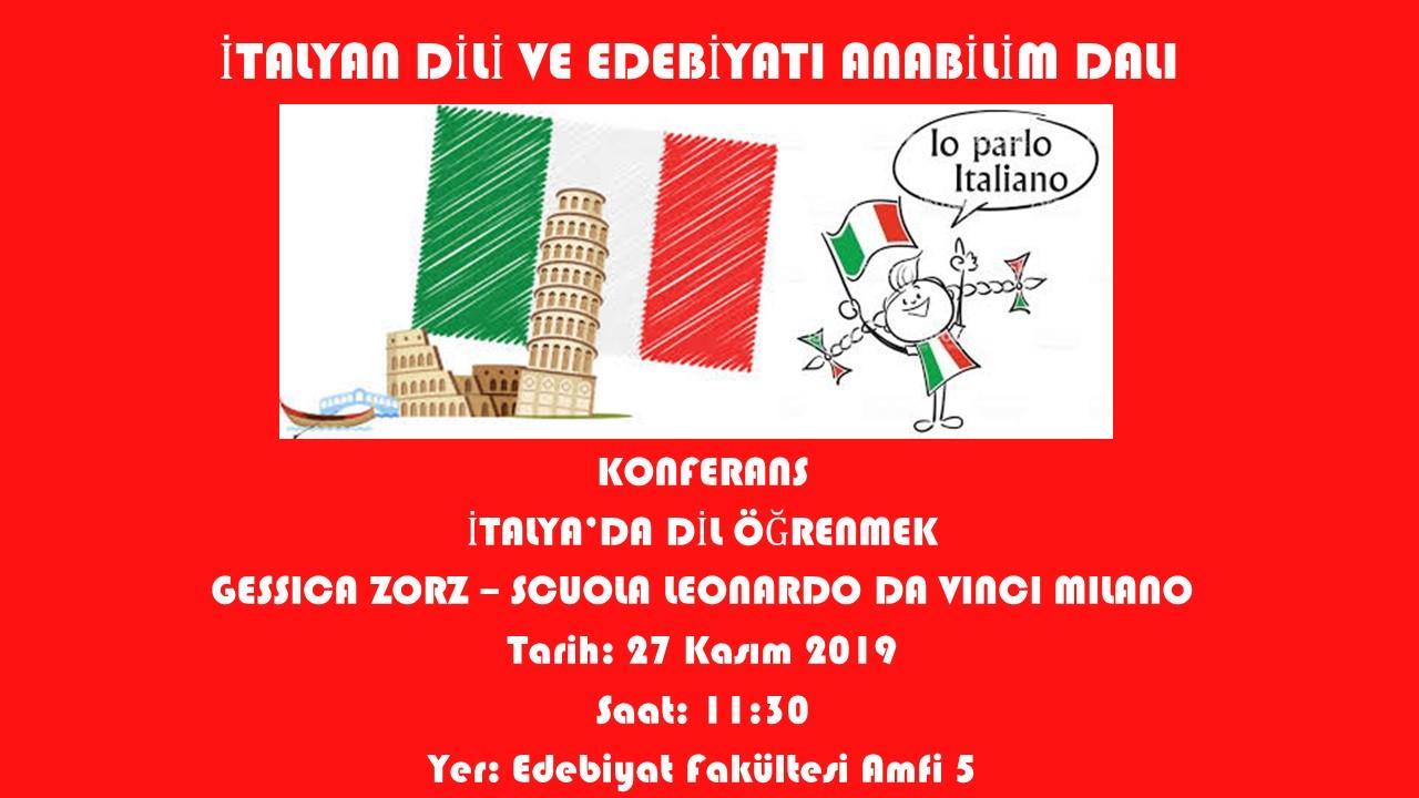 Italian-Language-and-Literature Gessica-Zorz Milano-Scuola-di-Leonardo-da-Vinci