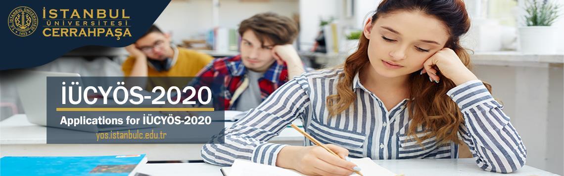 İÜCYÖS-2020 YÖS-Sınavı Yös2020 2020YÖS 2020-YÖS