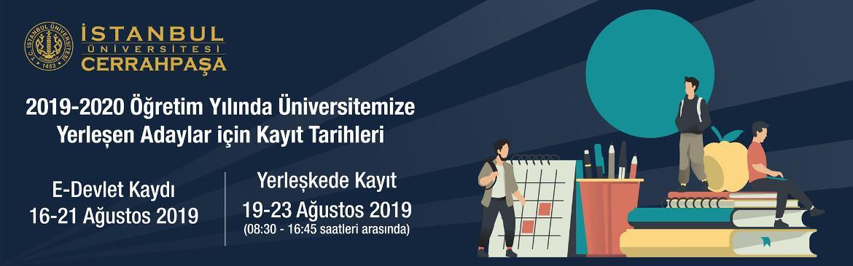 orman fakülte istanbul cerrahpaşa 2019-kayıt