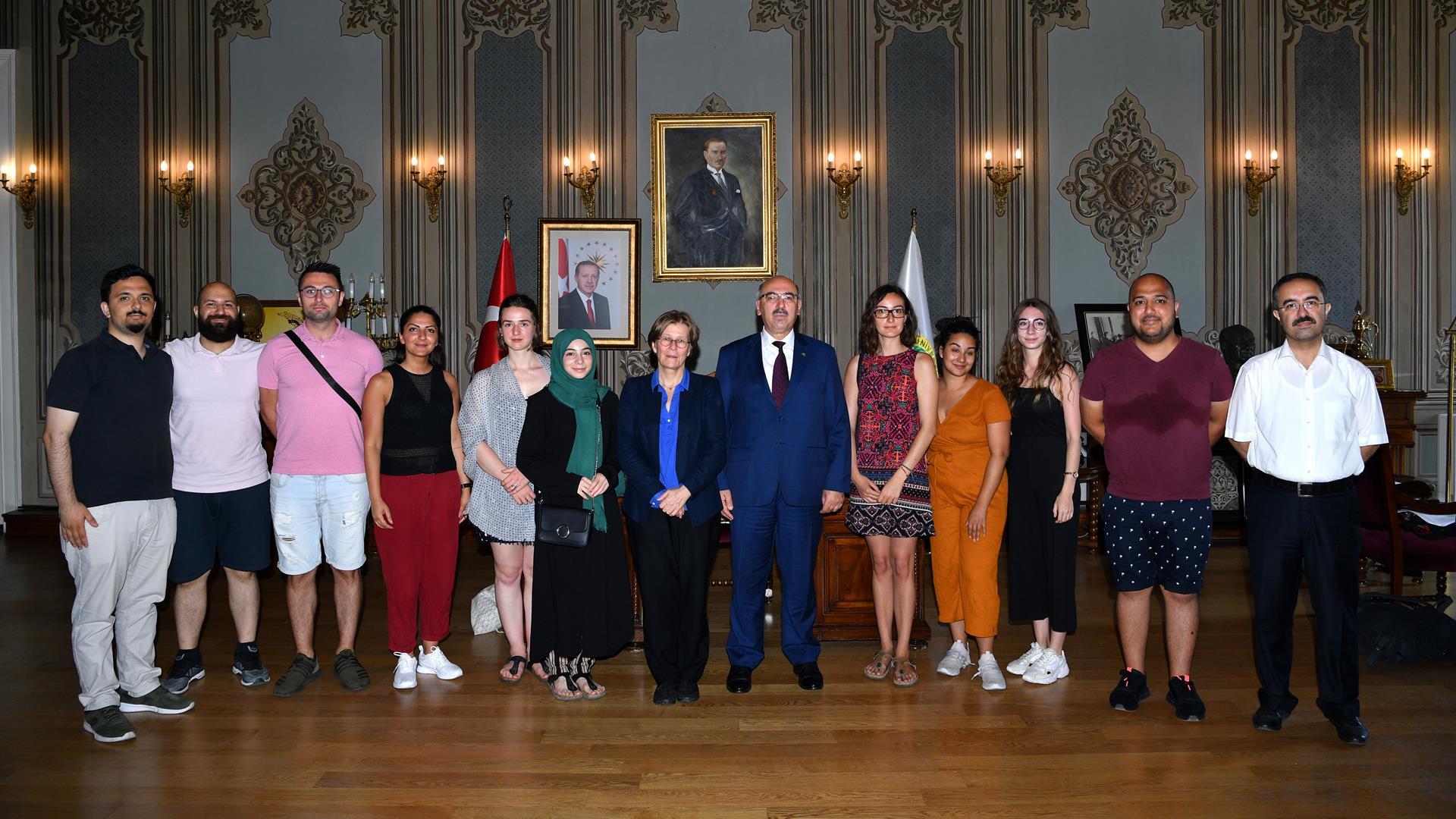 Bonn-Üniversitesi'nden-Gelen-Heyet-İstanbul-Üniversitesi'ni-Ziyaret-Etti