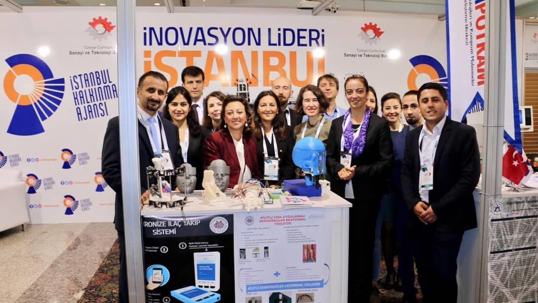 """İstanbul-Üniversitesi-İstanbul-Tıp-Fakültesi-İSTKA-Projesi-""""İnovasyon-Lideri-İstanbul""""-ile-3.-Ar-ge-İnovasyon-Zirvesi-ve-Sergisi'ndeydi"""