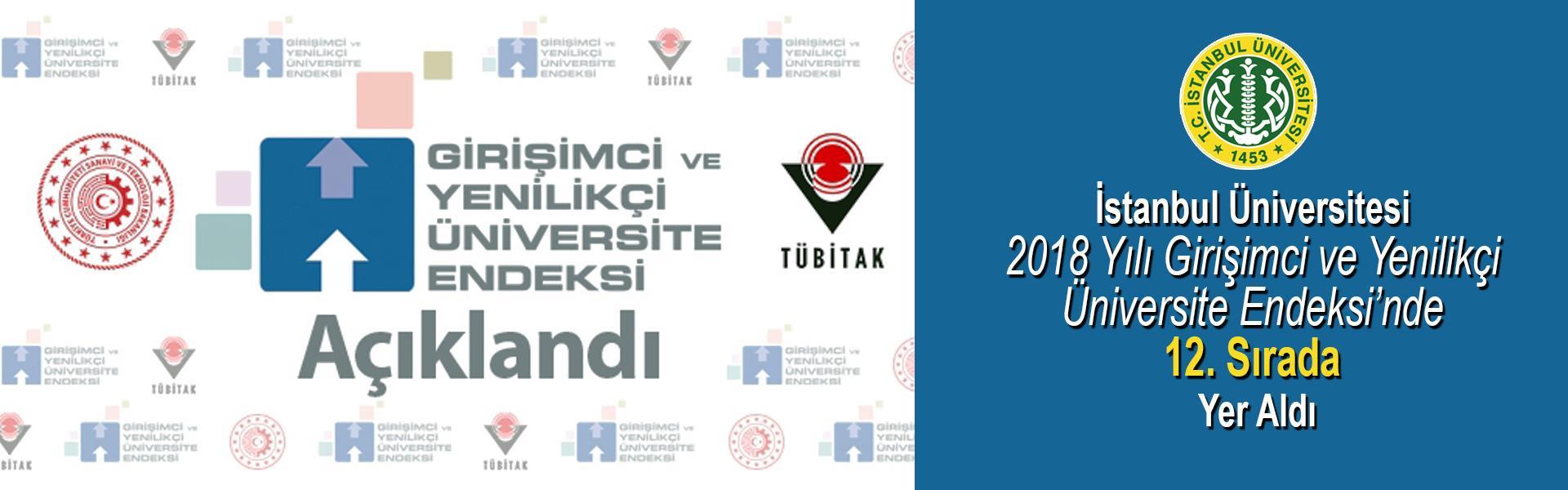 İstanbul-Üniversitesi-2018-Yılı-Girişimci-ve-Yenilikçi-Üniversite-Endeksi'nde-12.-Sırada-Yer-Aldı