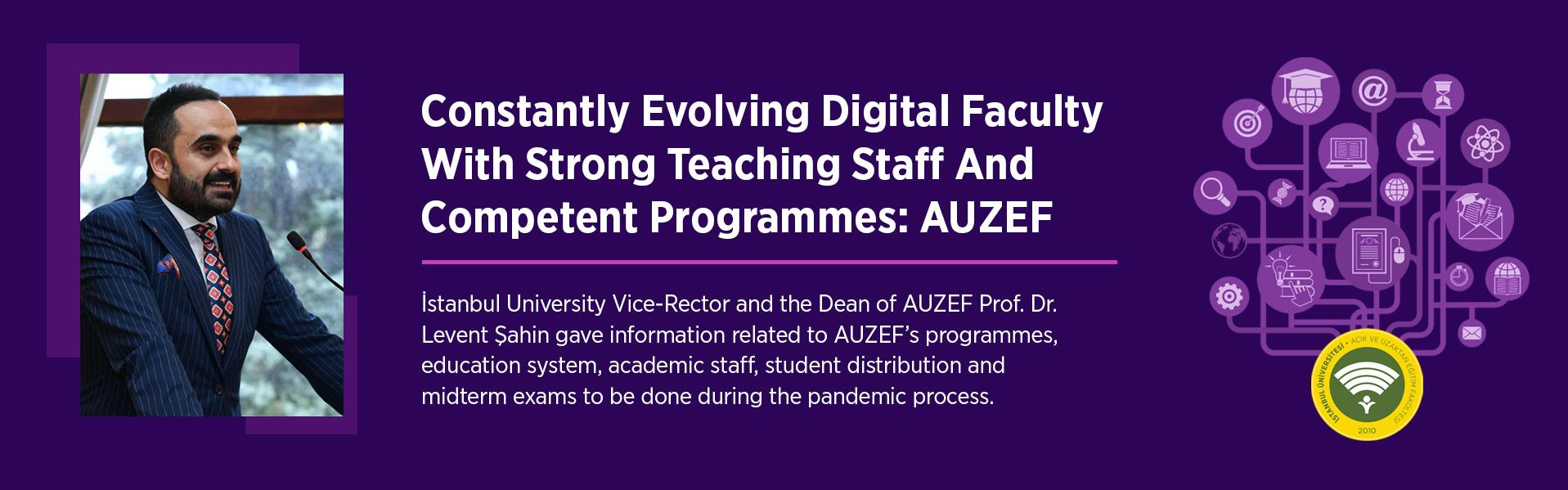 AUZEF digital-faculty distance-education