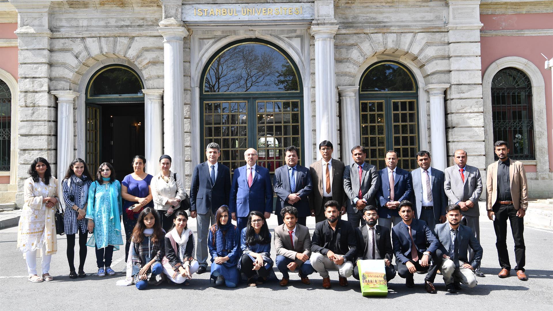 Sındh-Madressatul-İslam-Üniversitesi-Heyeti-İstanbul-Üniversitesi'ni-Ziyaret-Etti