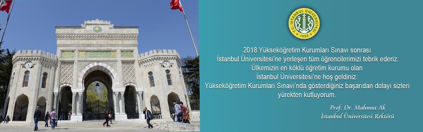 İstanbul-Üniversitesi'ne-Hoş-Geldiniz
