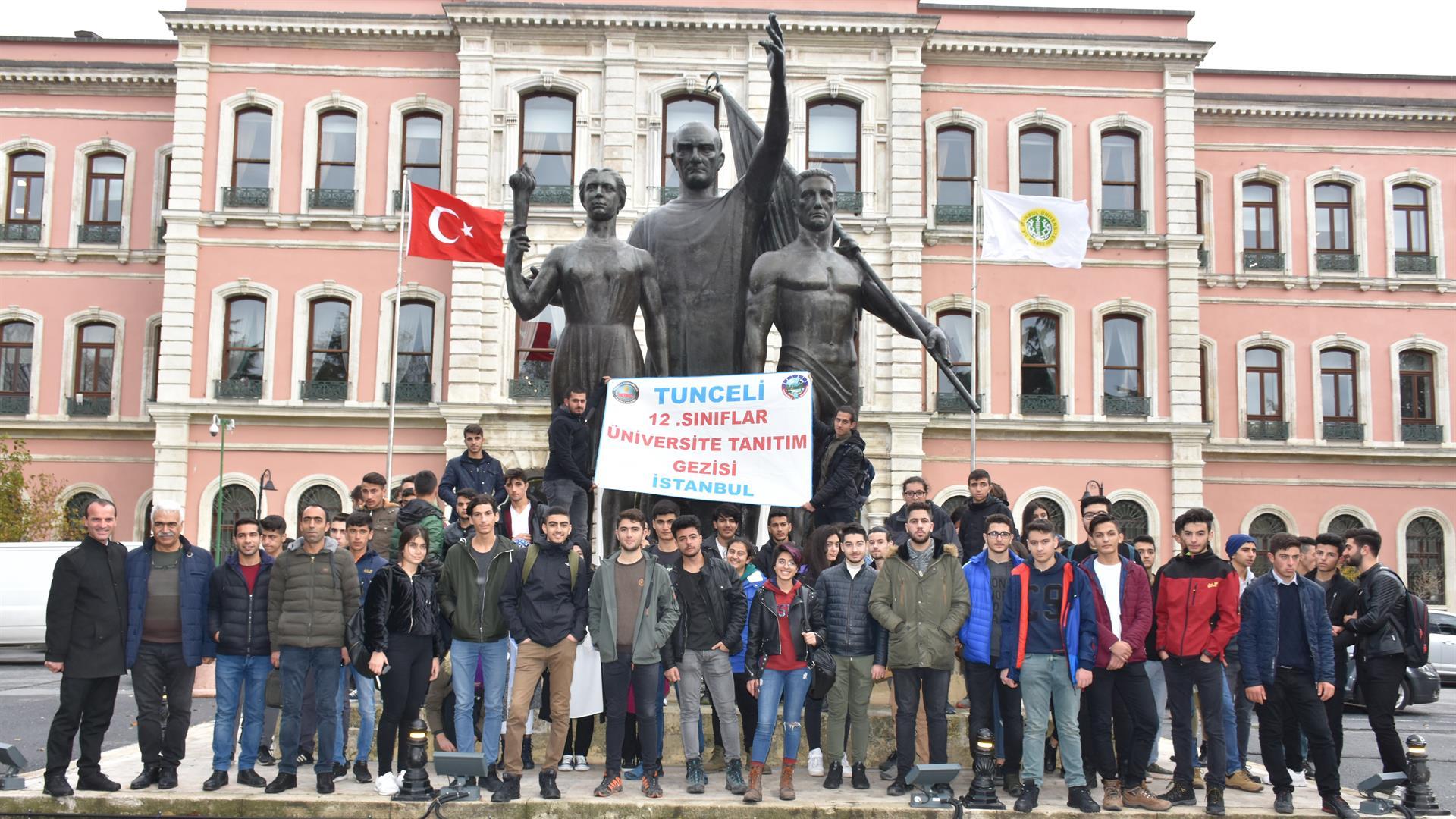 Tunceli'de-Eğitim-Gören-Öğrenciler-İstanbul-Üniversitesi'ni-Ziyaret-Etmeye-Devam-Ediyor