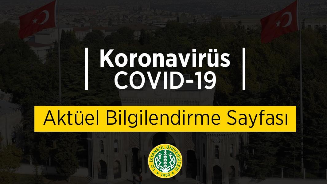 COVID-19 bilgilendirme koronavirüs