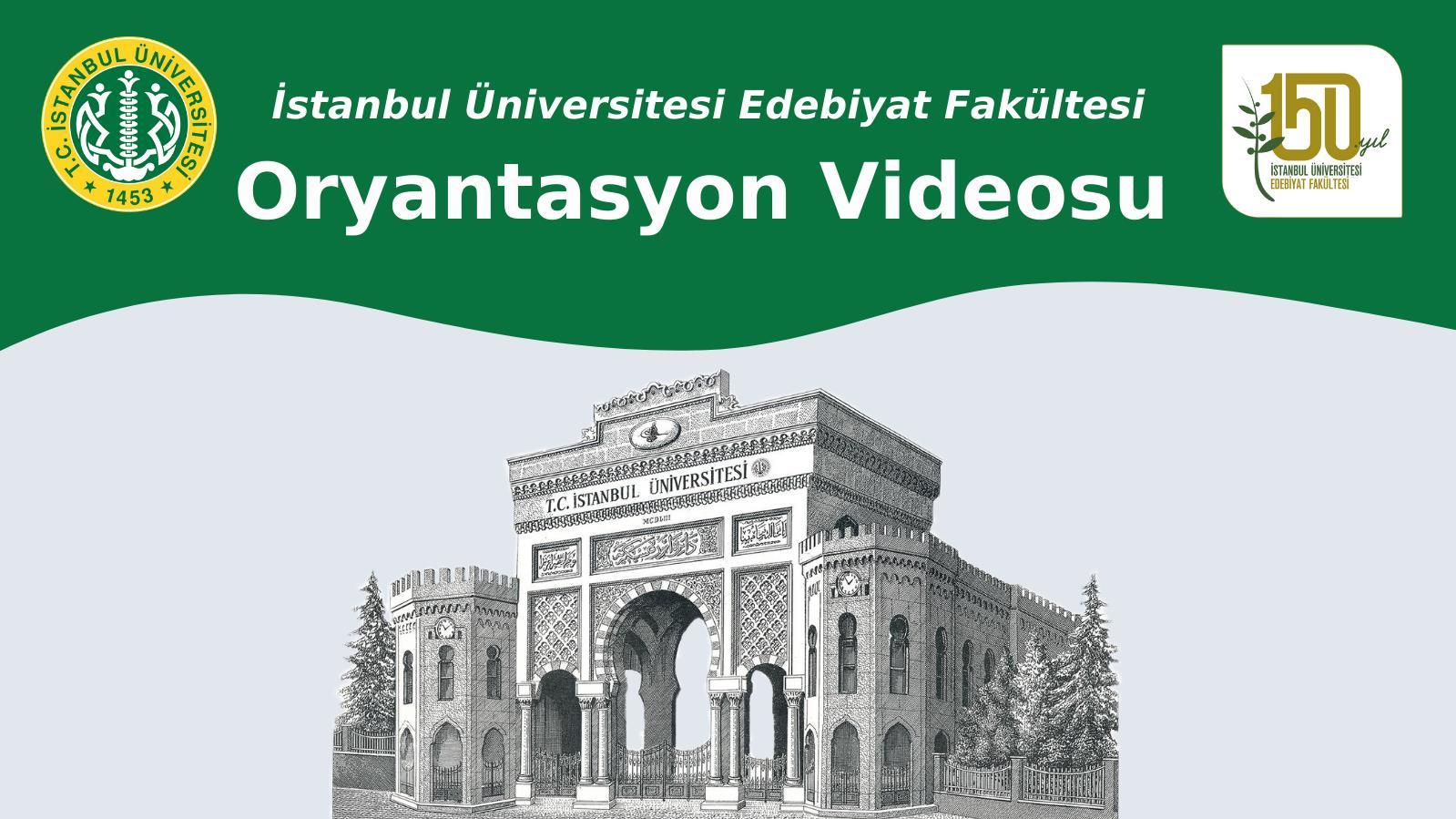 oryantasyon videosu