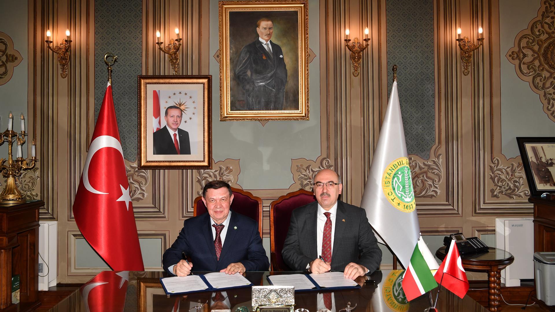 İstanbul-Üniversitesi-ve-Tataristan-Bilimler-Akademisi-Arasında-İş-Birliği-Protokolü-İmzalandı
