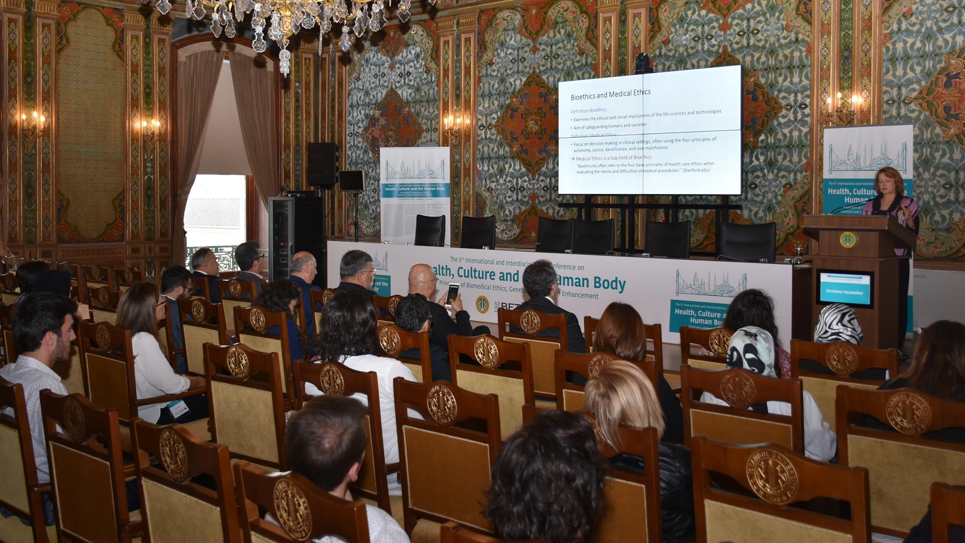 5.-Uluslararası-Sağlık -Kültür-ve-İnsan-Bedeni-Sempozyumu-İstanbul-Üniversitesi'nde-Başladı