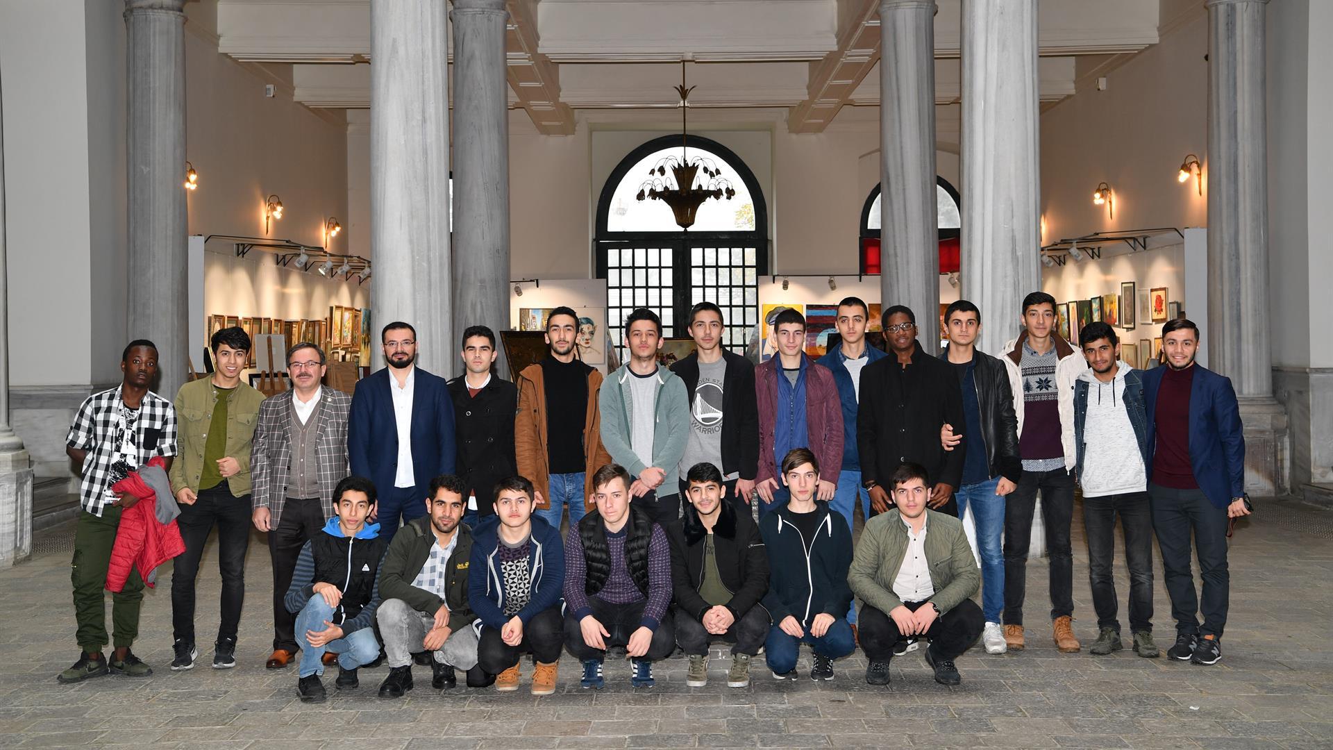 İlim-Yayma-Cemiyeti-İstanbul-Üniversitesi'ni-Ziyaret-Etti