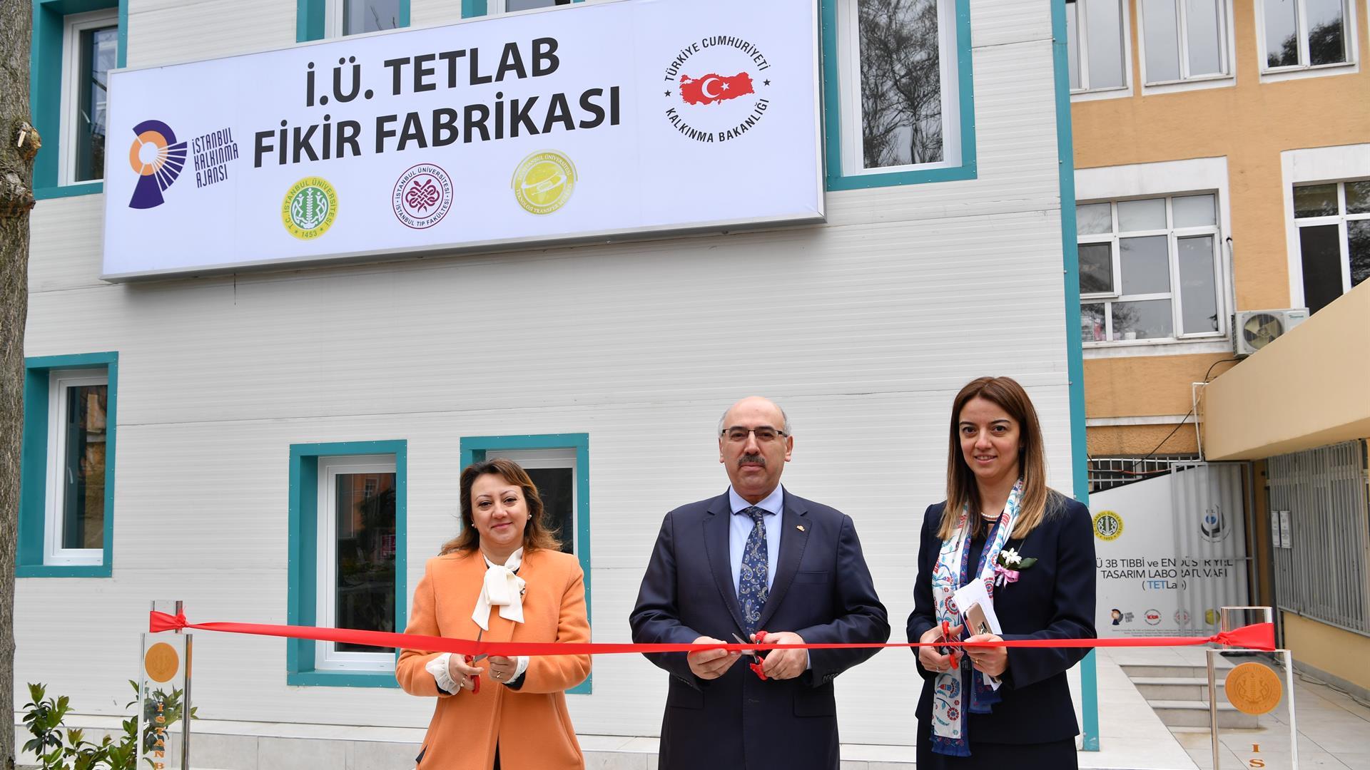 İstanbul-Üniversitesi-TETLAB-Fikir-Fabrikası-Açıldı