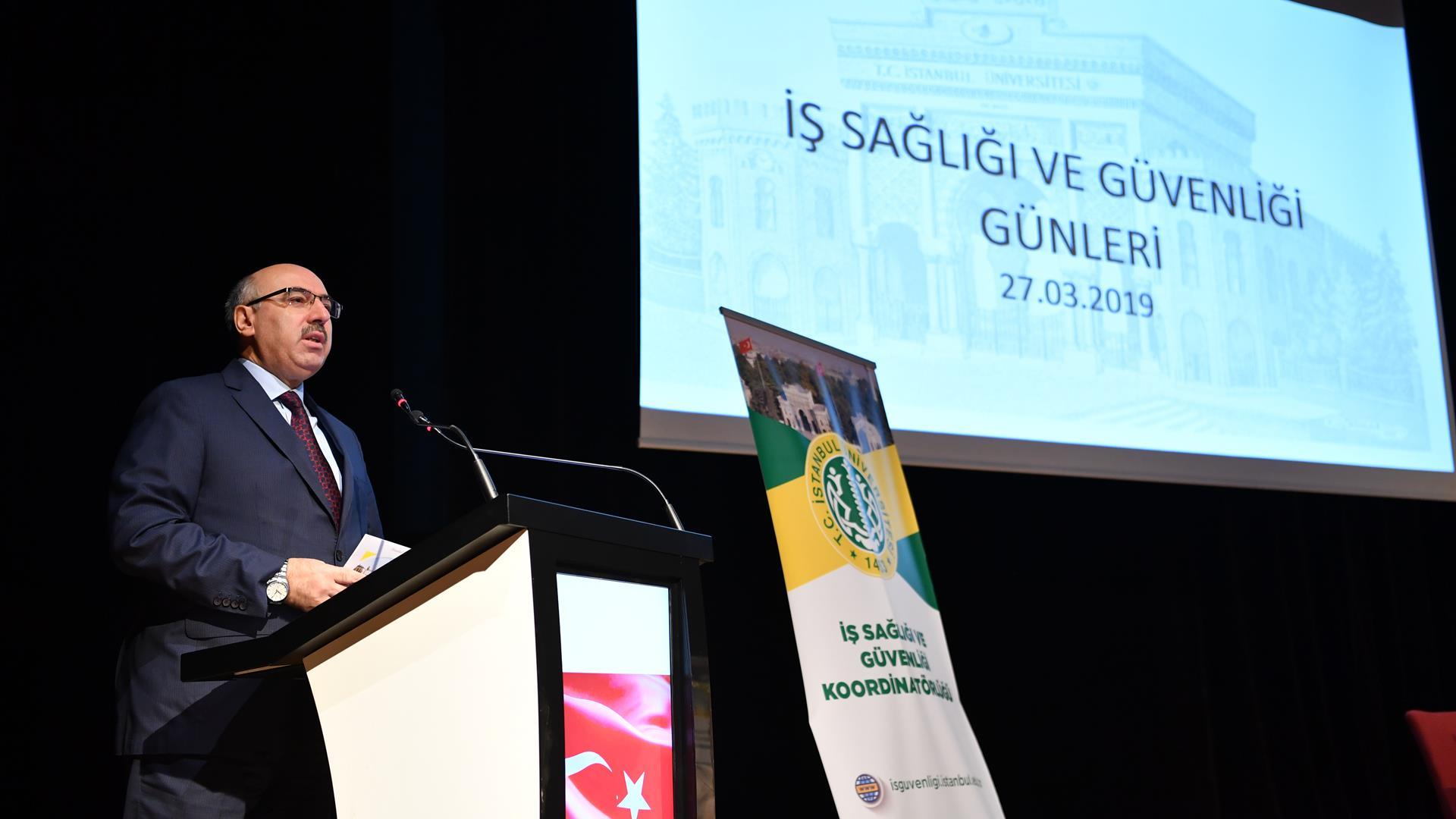 İş-Sağlığı-ve-Güvenliği-Günleri-Programı-İstanbul-Üniversitesi'nde-Gerçekleştirildi