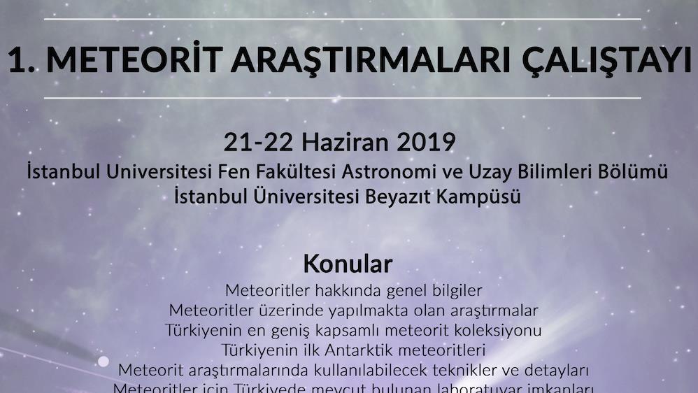 astronomi çalıştay