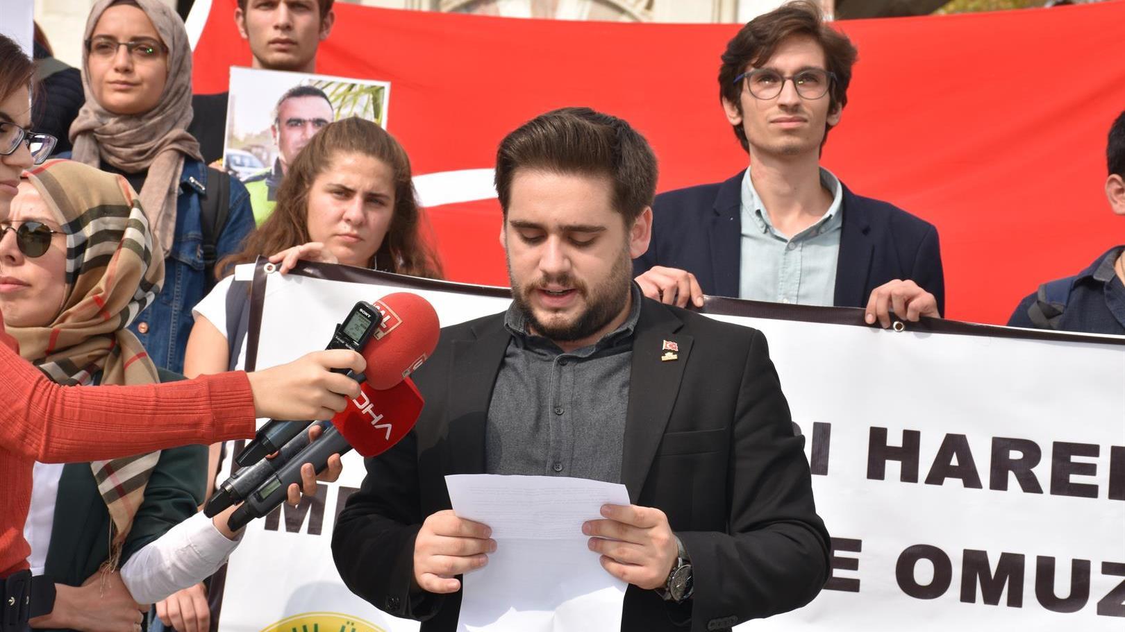 Barış-Pınarı-Harekatı istanbul-üniversitesi istanbul-üniversitesi-öğrenci-konseyi emir-alp-turgut
