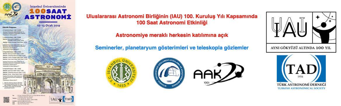 astronomi 100-saat etkinlik