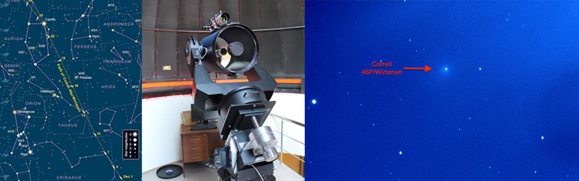 astronomi 46P/Wirtanen-Kuyrukluyıldızı