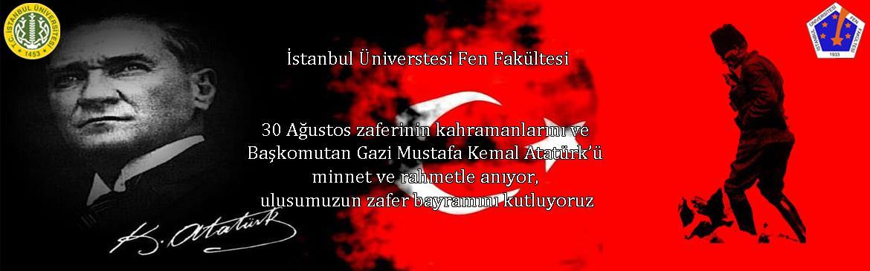 30-Ağustos zafer-bayramı atatürk fen-fakültesi istanbul-üniversitesi