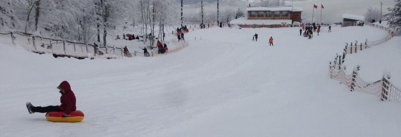 aytepe kartepe kış kar kayak kızak spor-birliği