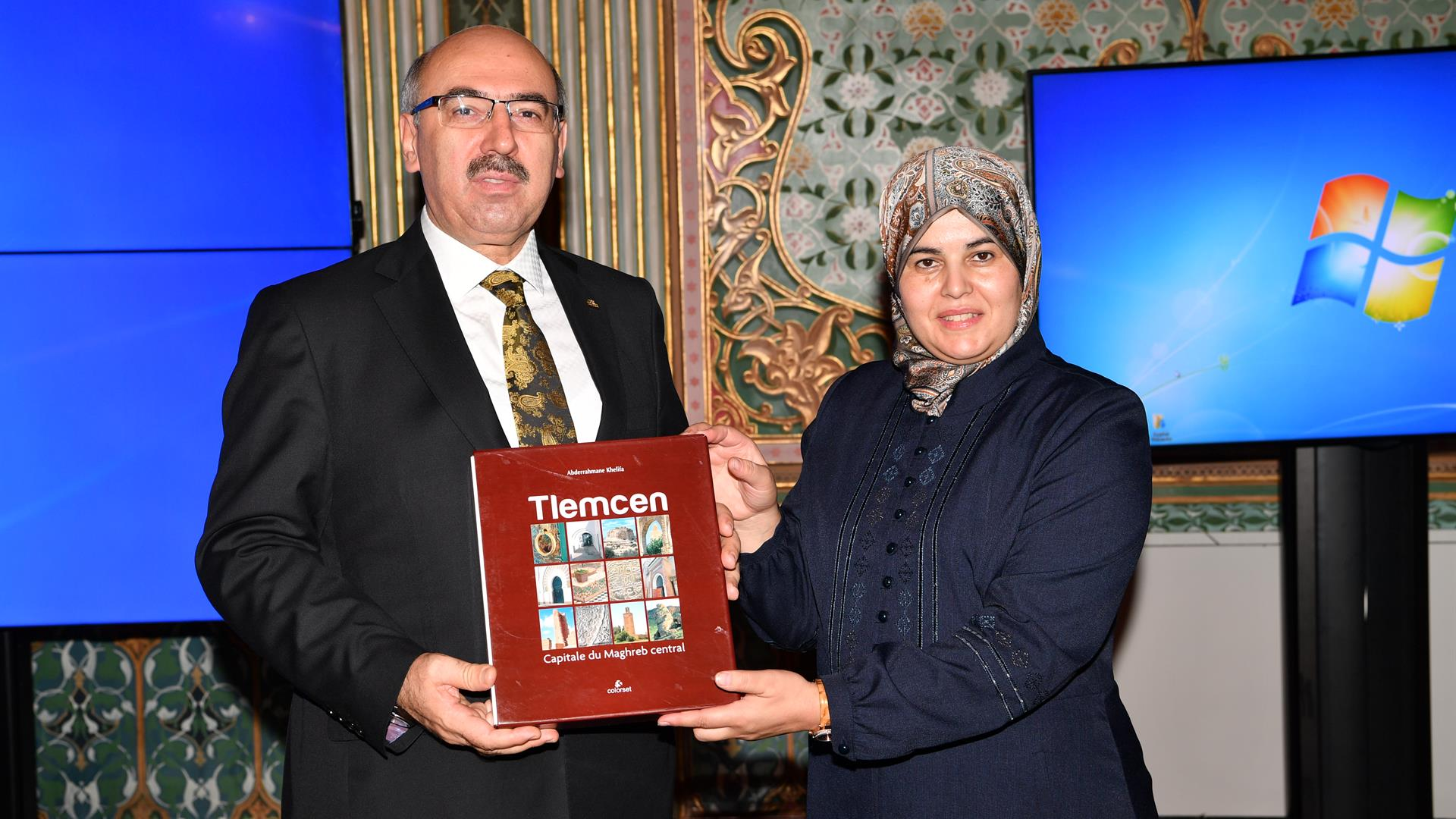 İstanbul-Üniversitesi-ve-Tilimsan-Üniversitesi-İş-Birliğinde-Gerçekleşen-Eğitimin-Sertifika-Töreni-Gerçekleştirildi