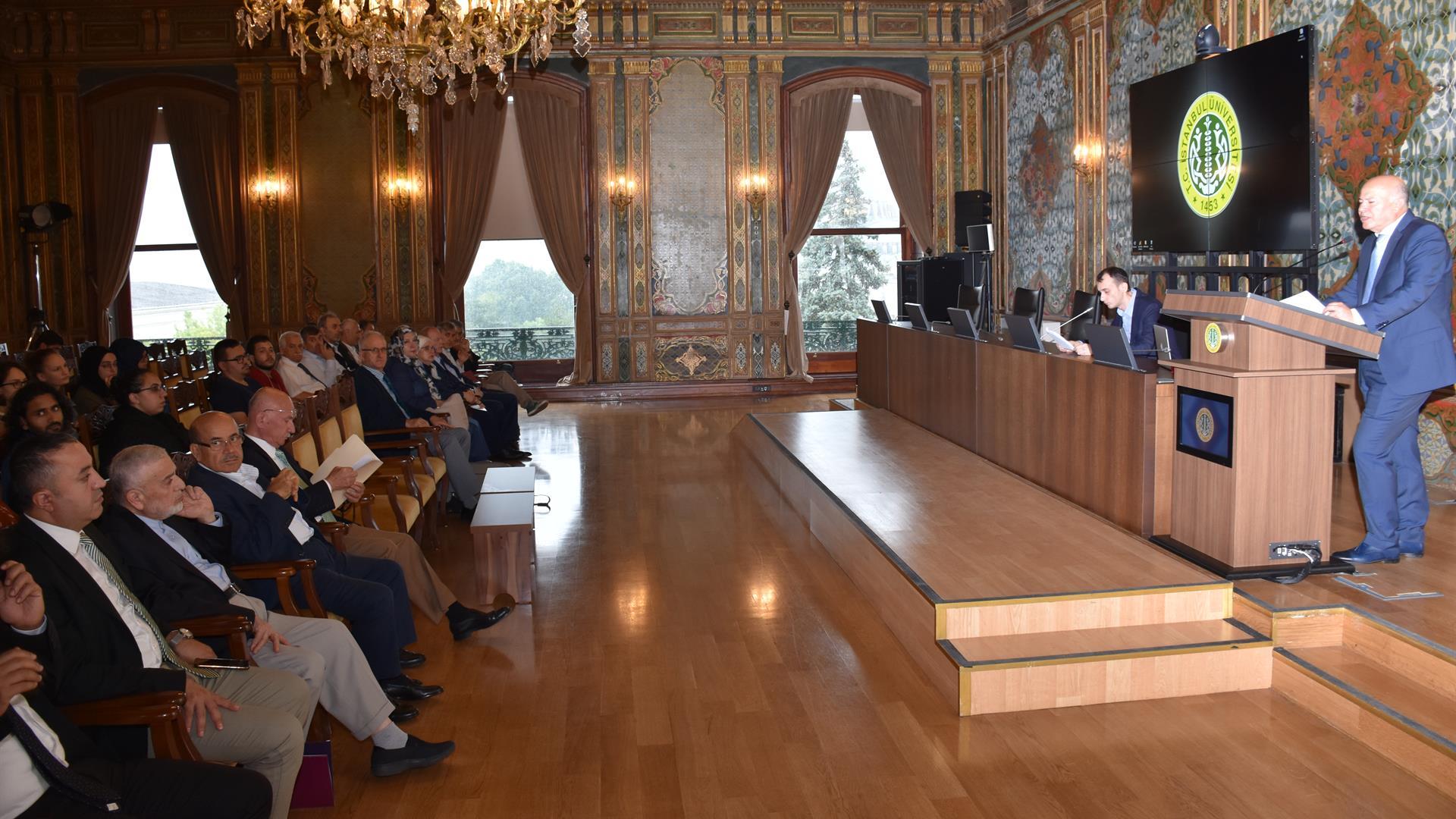 Lisansüstü-Yaz-Programının-Açılışı-ve-Müslüman-Sosyal-Bilimciler-Derneği-Ödül-Töreni-İstanbul-Üniversitesi'nde-Gerçekleştirildi