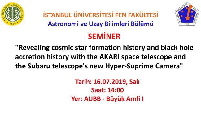 astronomi seminer