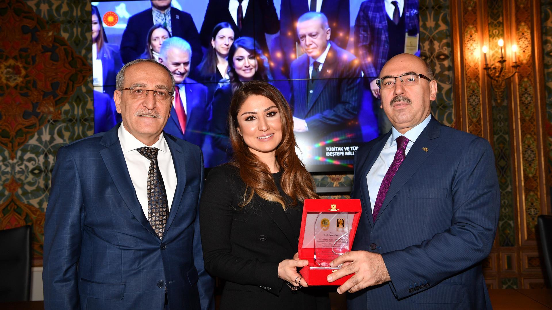 """""""2018-TÜBA-GEBİP""""-Ödülünü-Kazanan-Doç.-Dr.-Saadet-Yüksel'e-Teşekkür-Töreni-Gerçekleştirildi"""