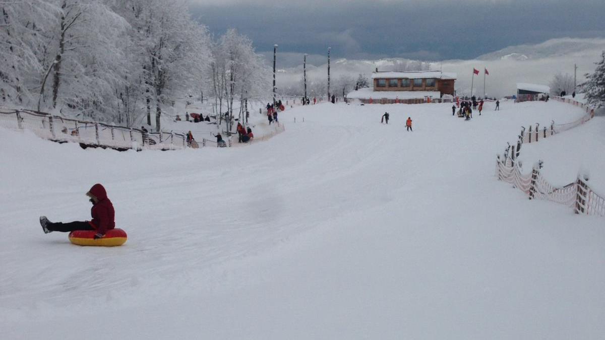 aytepe kar kayak spor-birliği kış