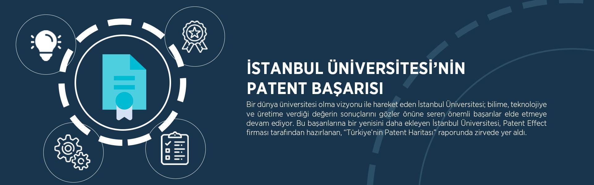 patent başarı İstanbul-Üniversitesi