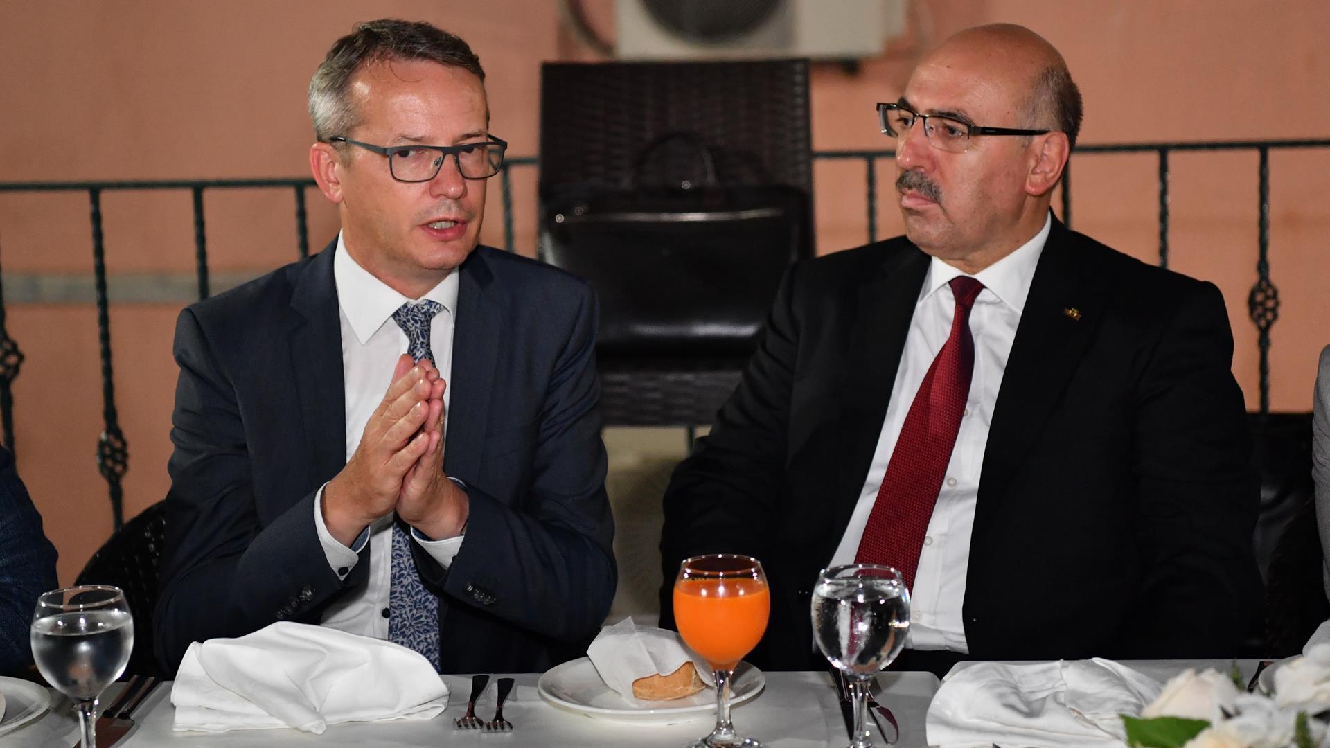 Belçika-Ku-Leuven-Üniversitesi-Rektörü-Luc-Sels-İstanbul-Üniversitesi'ni-Ziyaret-Etti