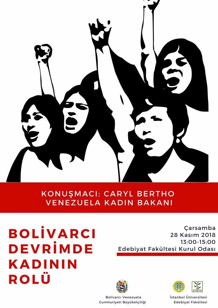 venezuela women bolivar revolution
