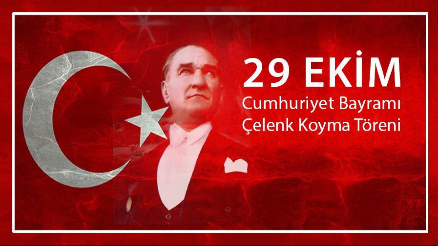 Cumhuriyet-Bayramı 29-Ekim Tören