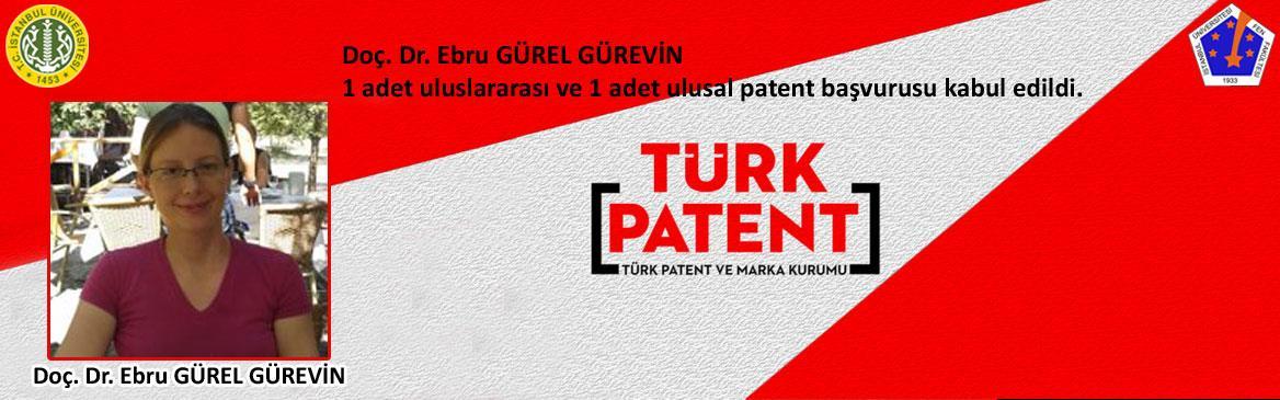 biyoloji ebru-gürel patent buluş