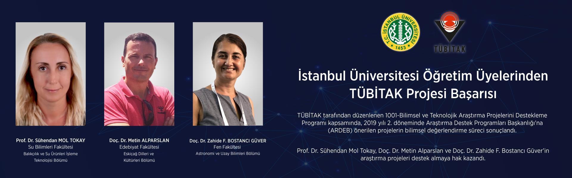 TÜBİTAK başarı İstanbul-Üniversitesi