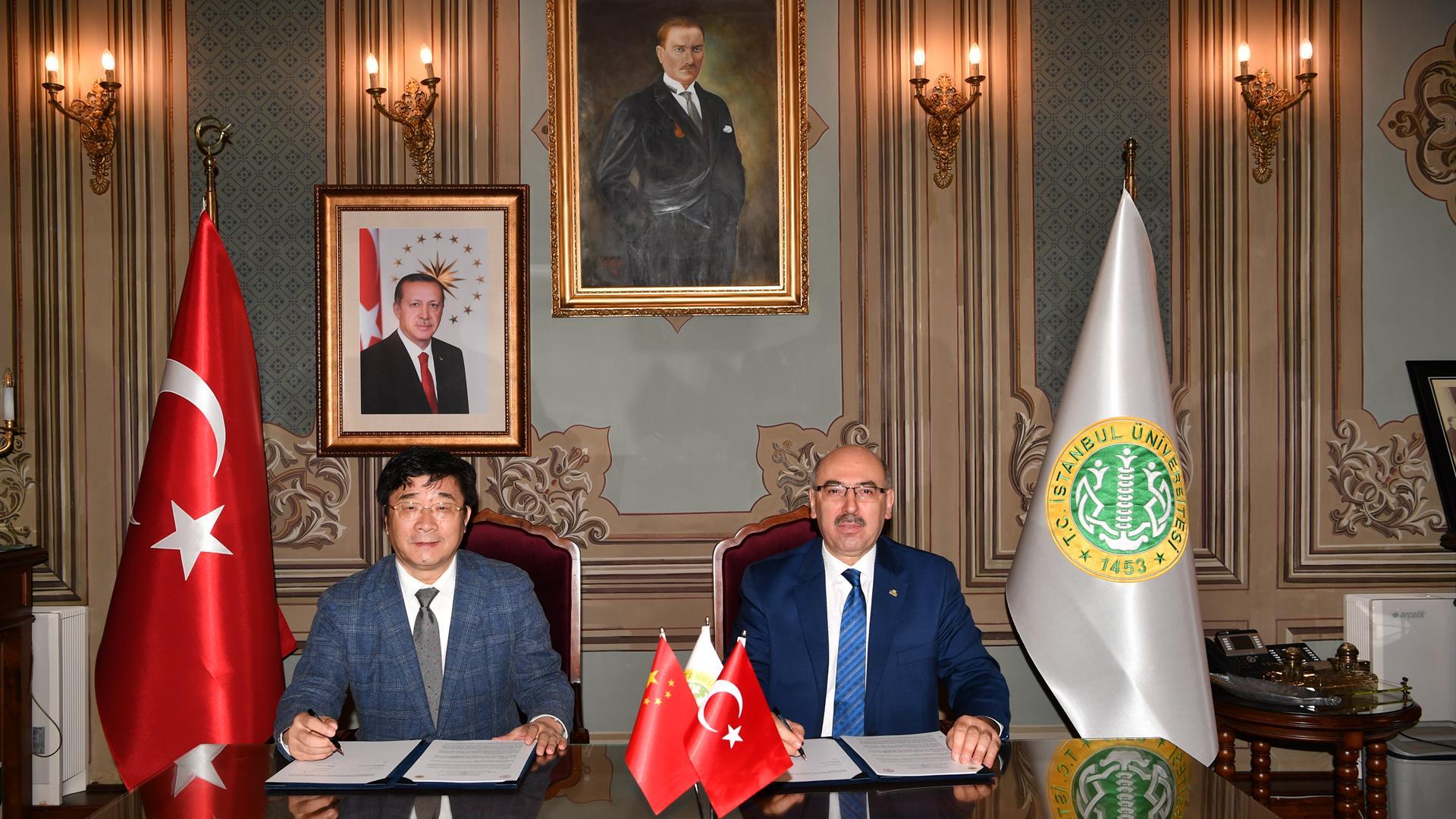 İstanbul-Üniversitesi-ve-Çin-Renmin-Üniversitesi-Arasında-İş-Birliği-Protokolü-İmzalandı