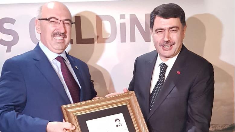 İÜ-Rektörü-Prof.-Dr.-Mahmut-Ak-İstanbul-Valisi-Vasip-Şahin-İçin-Düzenlenen-Veda-Yemeği-Programına-Katıldı
