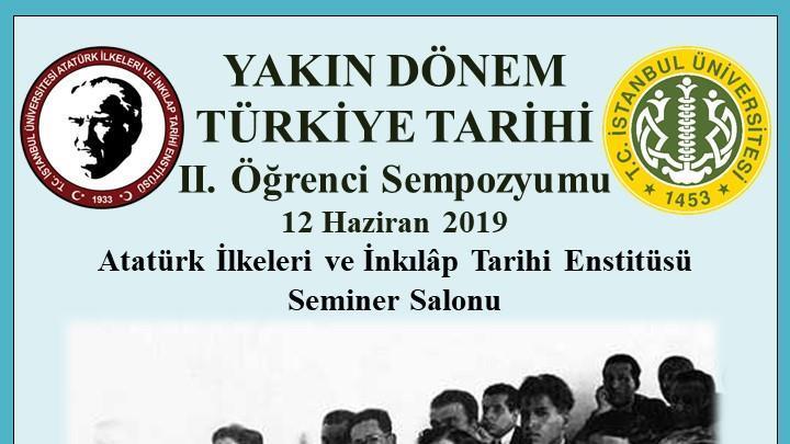 Öğrenci-Sempozyum-Atatürk-İlkeleri Atatürk-İlkeleri İnkılap-Tarihi