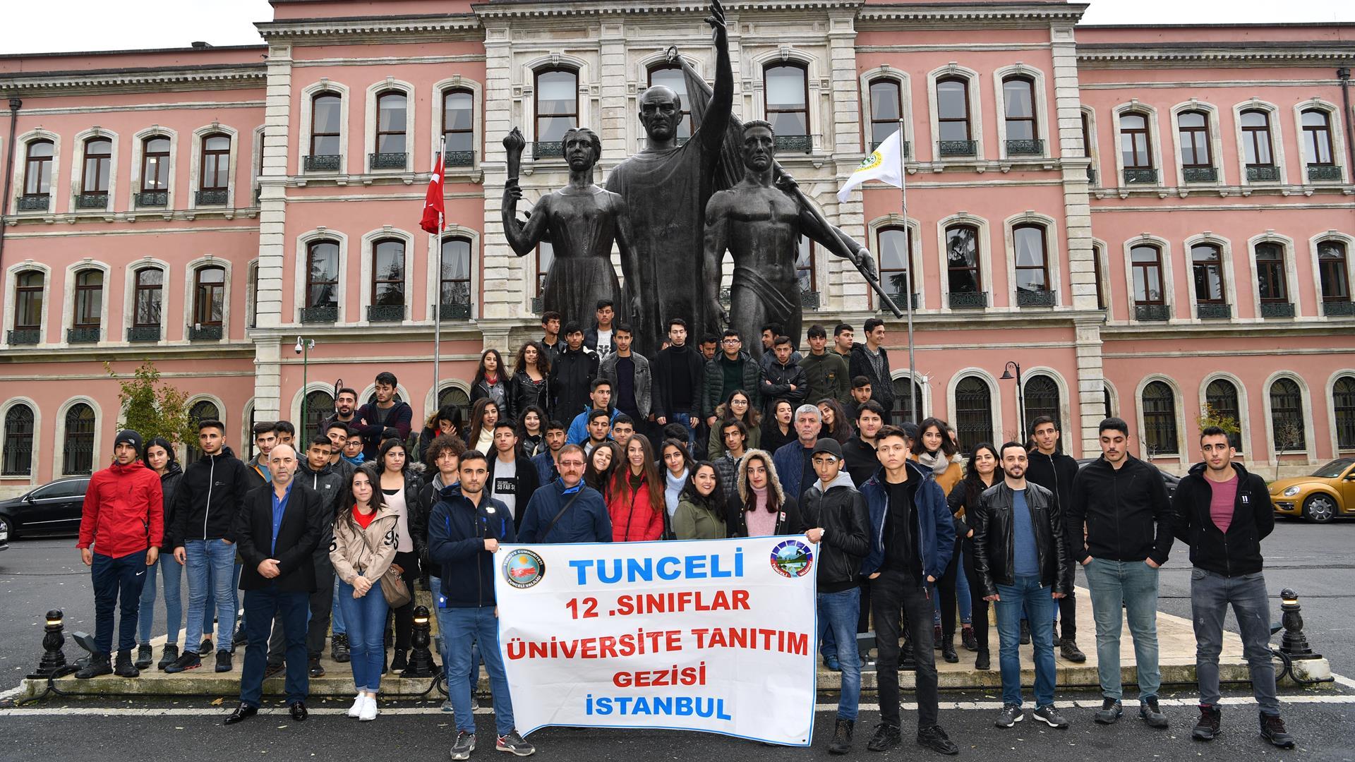 """İstanbul-Üniversitesi-""""Üniversitelerimizi-Tanıyoruz-Projesi""""-Kapsamında-Tunceli'den-Gelen-Öğrencileri-Ağırlamaya-Devam-Ediyor"""