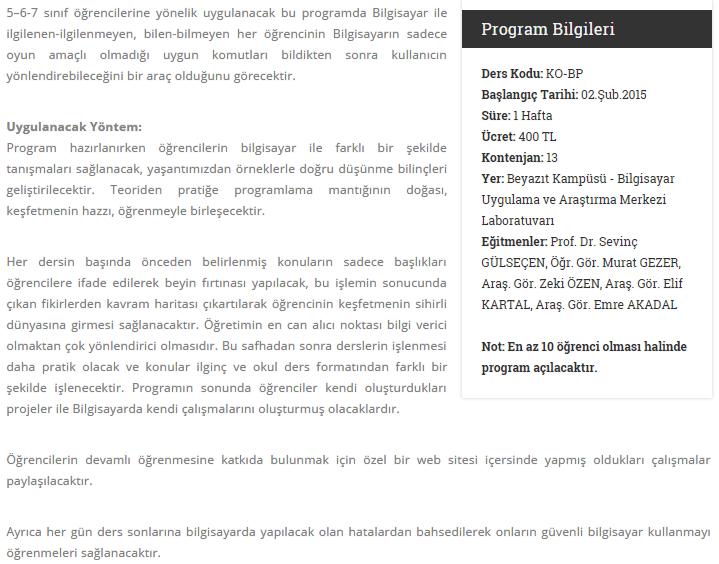 2014-10-08 10-01-16 Bilgisayar Programlıyorum   İ.Ü. Çocuk Üniversitesi - Google Chrome