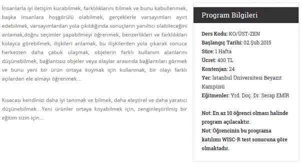 2014-10-17 11-23-39 Üstün Yetenekli Öğrencilere Zenginleştirme Programı   İ.Ü. Çocuk Üniversitesi - Google Chrome