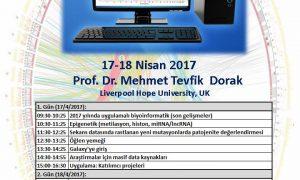 İstanbul Üniversitesi, İstanbul Tıp Fakültesi, Tıbbi Biyoloji A.D. 2. Uygulamalı Biyoinformatik Kursu
