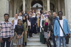 İ.Ü Dil Merkezi öğrencileri