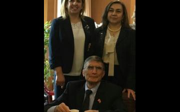 Prof. Dr. Aziz SANCAR Hocamızı Fakültemiz Kampüsünde Ağırladık
