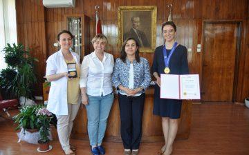 Üniversitemiz 10. Kore Kadın Buluşçular Sergisi'nden 7 Ödül İle Döndü